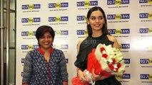Miss World 2017 Manushi Chhillar Visit 92.7 Big FM Studio