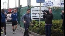 Fraudes dans le foot belge : Ivan Leko à l'entraînement à Bruges