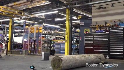 Atlas : le robot de Boston Dynamics fait du parkour