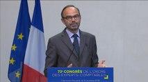 Édouard Philippe au Congrès de l'ordre des experts comptables