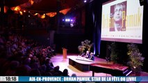 Aix-en-Provence :  Orhan Pamuk, prix Nobel de littérature en 2006, star de la fête du livre.