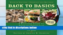 P.D.F D.O.W.N.L.O.A.D Back to Basics: A Complete Guide to Traditional Skills (Back to Basics