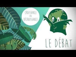 Le Débat du JTerre - La Croissance nous sauvera-t-elle ?