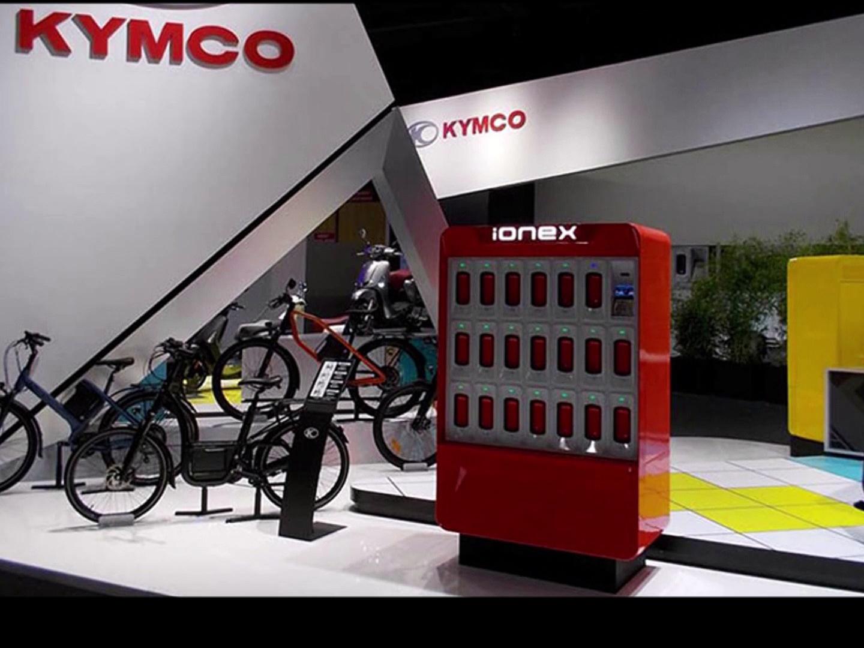 Kymco  Ionex Commercial paris autoshow