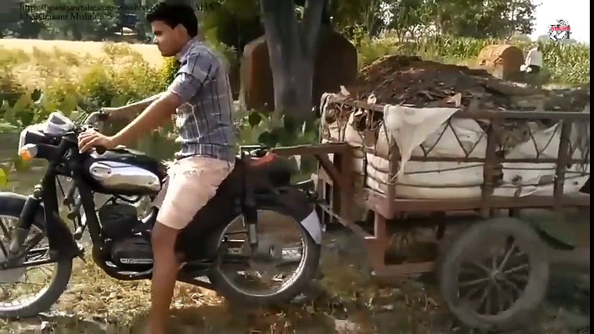 Amazing Homemade Tractor -Motorcycles !