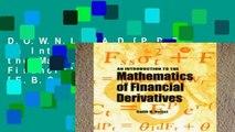 D.O.W.N.L.O.A.D [P.D.F] An Introduction to the Mathematics of Financial Derivatives [E.B.O.O.K]
