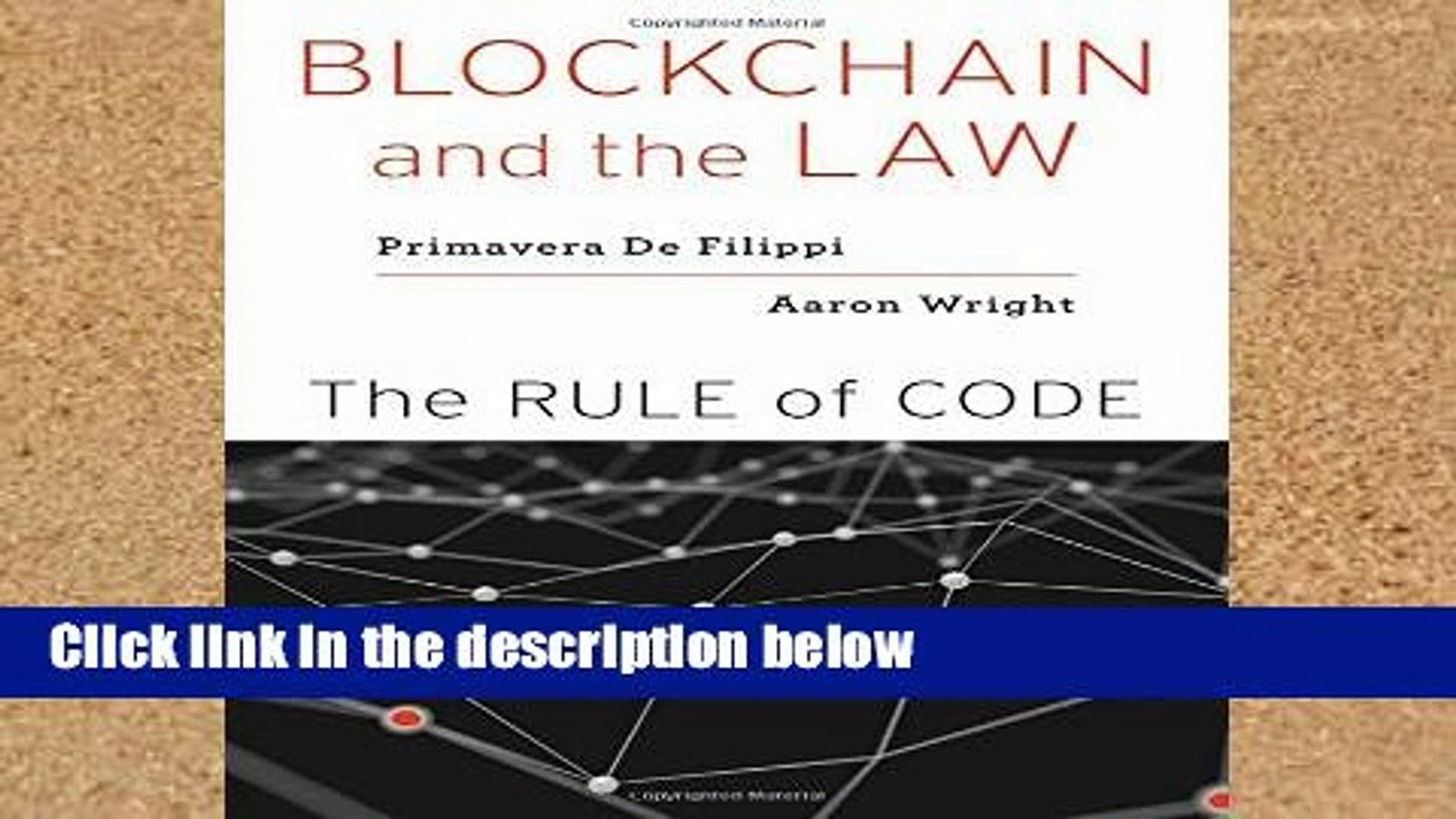 Popular Blockchain and the Law: The Rule of Code