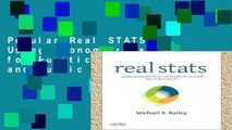Popular Real STATS: Using Econometrics for Political Science and Public Policy