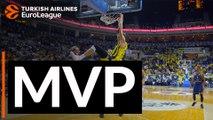Turkish Airlines EuroLeague Regular Season Round 1 MVP: Jan Vesely, Fenerbahce Istanbul