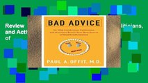 Review  Bad Advice: Or Why Celebrities, Politicians, and Activists Aren t Your Best Source of
