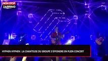 Hyphen Hyphen : La chanteuse du groupe s'effondre en plein concert (Vidéo)