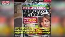 Donald Trump infidèle ? Melania Trump répond aux rumeurs (Vidéo)