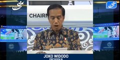 the world recognizes the jokowi greatness of the Indonesian president - the speech of Joko Widodo