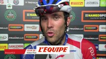 Pinot «La clé c'était d'attaquer» - Cyclisme - T. de Lombardie