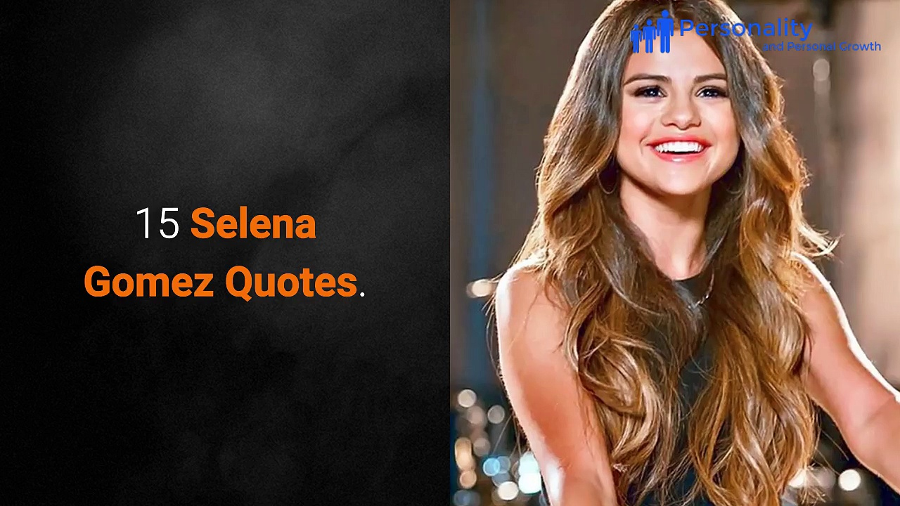 Top Quotes From Selena Gomez. http://bit.ly/2BuUAGT