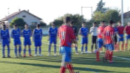 Belle victoire de nos U19 !  DIEMOZ A.S. - UGA LYON-DECINES  0 - 3