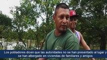 """""""Estamos inundados y no tenemos ayuda de nadie, nadie a ha venido"""", afirman pobladores de León, afectados por las intensas lluvias del fin de semana >>"""