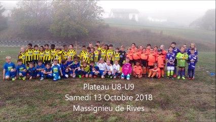 Plateau U8/U9 du samedi 13 octobre 2018 à Massignieu