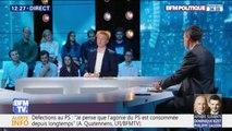"""Pour Adrien Quatennens (LFI), """"Edouard Philippe doit en avoir marre des petites phrases de Macron. Je pense qu'il vaut mieux que ça"""""""