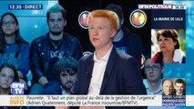 """Adrien Quatennens l'assure, """"La France Insoumise peut gagner à Lille"""""""