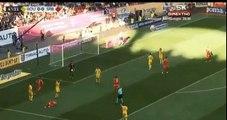 Tamas Red Card  - Romania vs Serbia  0-0  14.10.2018 (HD)