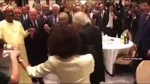 Ça c'est la danse, la danse, des Présidents #IDI et  Emmanuel Macron font le show #Armenie Sommet de l'#OIF#Tchad #Adjib