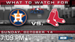 The Red Sox Look To Bounce Back In Game 2 of ALCS