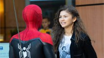 Tom Holland And Zendaya Spotted Filming Spider-Man
