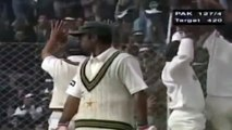 10 Wickets in a Match by Anil Kumble - W W W W W W W W W W