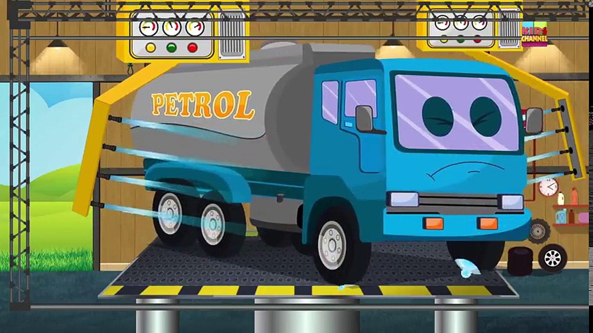 Tv cartoons movies 2019 Car Wash   Fire Truck   Cartoon For Children   Trucks Kids Show   Toddlers V