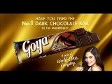 Café Puro and La Germania TV ads with Goya Dark Choco only image static ad