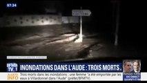 Inondations dans l'Aude: le bilan passe à 3 morts