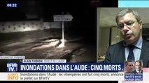 Inondations dans l'Aude: le bilan passe à 5 morts