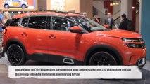 Der neue SUV Citroën C5 Aircross ab 23.290 Euro