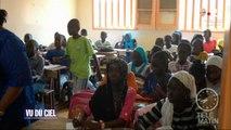 Odysée -  Vu du ciel : des panneaux solaires dans une école au Sénégal