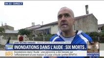 """Inondations dans l'Aude: """"À deux heures du matin, je sors du lit et je me retrouve les pieds dans l'eau"""""""