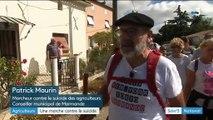 Lot-et-Garonne : un élu marche contre le suicide des agriculteurs