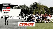 COGNAC vs ROUEN, bande-annonce - RUGBY - FÉDÉRALE 1