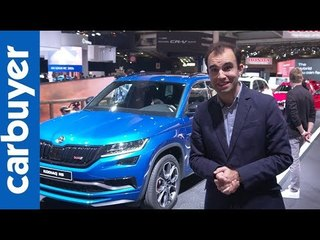 New Skoda Kodiaq vRS –Paris Motor Show – Carbuyer