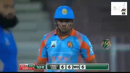 Hazratullah Zazai smashed Six sixes in an over in APLT20