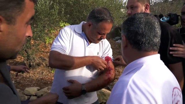 - İsrail Askerleri 120 Öğrenciyi Yaraladı- İsrail Filistin'de Okul Kapatınca Öğrenciler Protesto Düzenledi