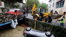 """""""En cinq minutes, il y avait 2,50m d'eau chez moi"""", raconte une habitante de Villegailhenc, victime des inondations dans l'Aude"""