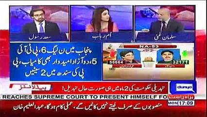 PMLN should accept the peoples mandate and stop talking about Rigging - Salman Ghani