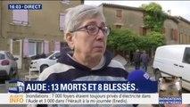 """Inondations dans l'Aude: """"J'ai perdu tout le bas de ma maison, il n'y a plus rien à récupérer"""""""