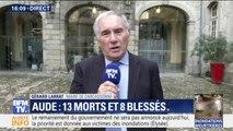 """Inondations dans l'Aude: le maire de Carcassonne assure que """"la décrue est amorcée"""""""