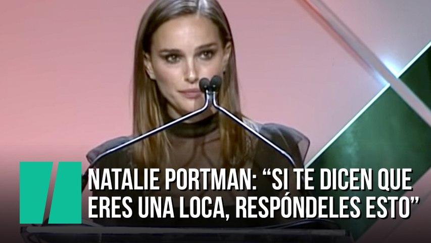 Natalie Portman llama a las mujeres a la acción