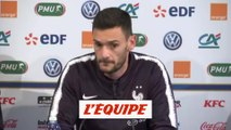 Lloris «On a pensé très fort à Laurent Koscielny» - Foot - Bleus