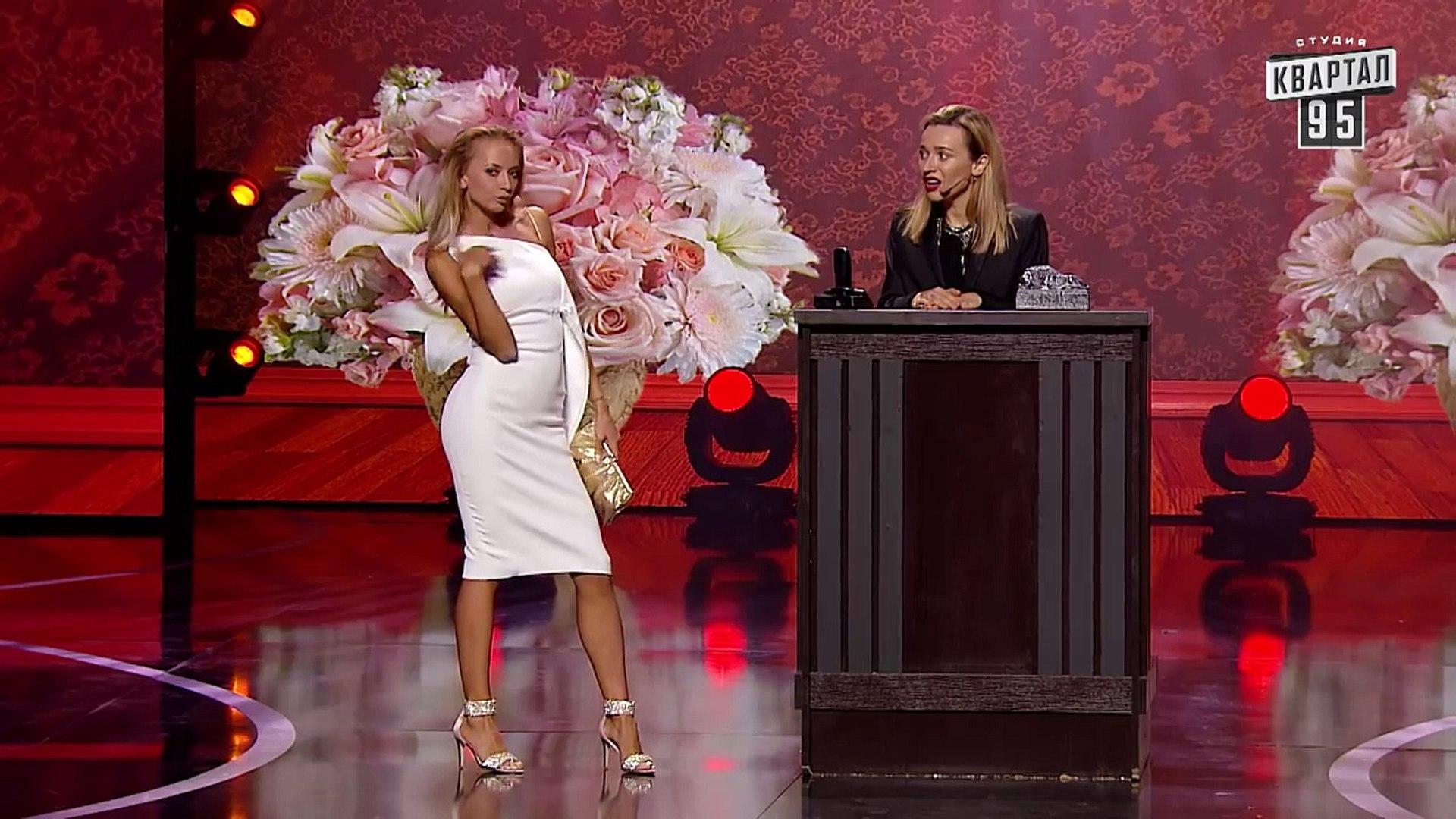 Блондинка в похоронном бюро - Шоу Женский Квартал