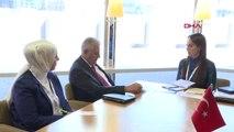 TBMM Başkanı Yıldırım Pab Başkanı ile Görüştü