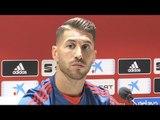 Sergio Ramos Pre-Match Press Conference - Spain v England - UEFA Nations League
